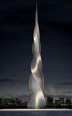 ♂ Futuristic architecture Skyscraper: #futuristicarchitecture