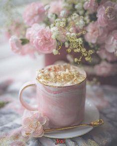 Coffee Love, Coffee Art, Coffee Break, Morning Coffee, Coffee Cups, Tea Cups, Coffee Photography, Food Photography, Deco Rose