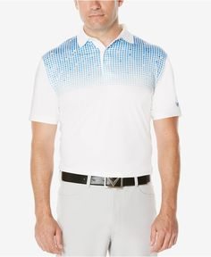 Get a distinctive look for the course or the club in this Callaway golf polo, featuring a striking pattern for fresh style. | Polyester/spandex | Machine washable | Imported | Polo collar | Jersey fab