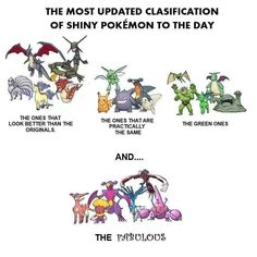 Shiny Pokemon Classification - Imgur