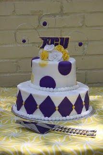 ECU cake - Go Pirates!