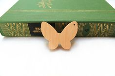 Butterfly  Pendant of alder  Teeth teether  Bead by PSLavka