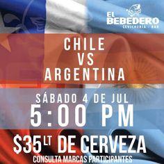 Sábado no te pierdas la final con nosotros en tu casa el bebedero de la paloma de La Paz, reservaciones:3130652