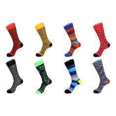 Dress Socks // Blurred Lines // Pack of 8