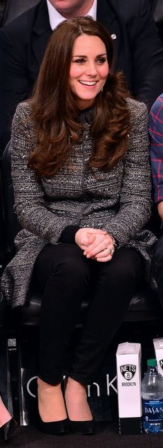Kate Middleton: Totally Excited to Be At a Basketball Game but Also Grateful She Could Master Casual-Meets-Sophisticated in a Tailored Coat
