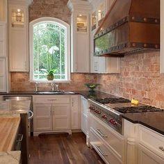 Copper Kitchen Hood, Transitional, kitchen, Pheasant Hill Design