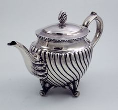 Tiffany antique sterling silver teapot