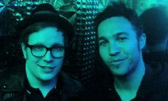 Patrick and Pete at the Robot Restaurant in Shinjuku, Tokyo GIF!Pete and Patrick are so,cute.
