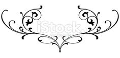 Vectorized Scroll Design Royalty Free Stock Vector Art Illustration >100
