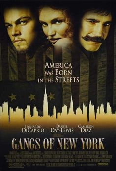 Gangs of New York is a 2002 Crime, Drama film directed by Martin Scorsese and starring Leonardo DiCaprio, Daniel Day-Lewis. Films Cinema, Cinema Tv, Martin Scorsese, See Movie, Movie List, Leonardo Dicaprio Movies, New York Movie, Gangs Of New York, New York Poster