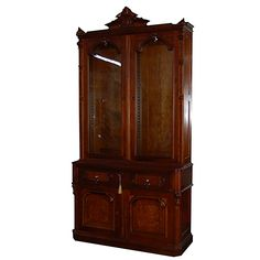 Antique Early Antique Antique 19th American Bookcase Secretary Antique