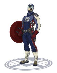 Captain America Redesign Concept