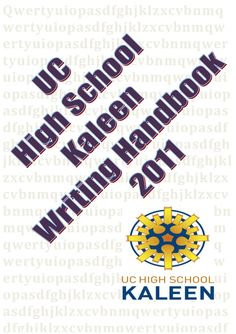 essay writing handbook pdf
