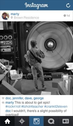 """Community Post: If Marty From """"Back to the Future"""" Had Instagram"""