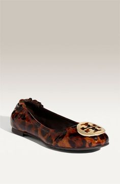 Tory Burch 'Reva' Patent Leather Flat available at Nordstrom