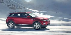 Range Rover Evoque - Prestige in Firenze Red