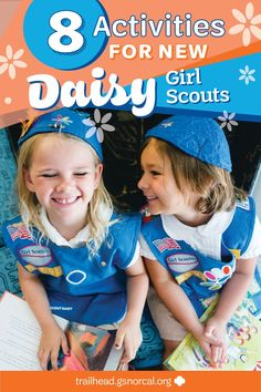 8 Activities for New Daisy Girl Scouts 8 Activities for New Daisy Girl Scouts If you're leading a brand new batch of Daisies, these 8 activities will help them channel all that boundless excitement into the world of Girl Scouting. Girl Scout Daisy Activities, Activities For Girls, Girl Scout Crafts, Family Activities, Girl Scout Daisy Petals, Daisy Girl Scouts, Girl Scout Daisies, Girl Scout Leader, Girl Scout Troop