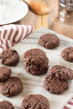 Decadent Vegan Double Chocolate Chip Cookies - Diary of an ExSloth