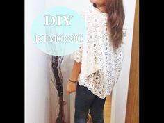 ✂ DIY- Kimono de encaje / Nerea Iglesias - YouTube