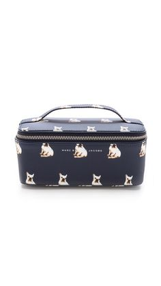 I need this!!! Frenchies on this Marc by Marc Jacobs Pets Large Travel Cosmetic