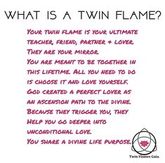 Your twin flame is you! you are perfect for each other. We offer free Consultations if you are interested in coaching! Just click the… Soulmate Love Quotes, True Love Quotes, Romantic Love Quotes, Twin Flame Relationship, Relationship Quotes, Life Quotes, Relationships, Status Quotes, Crush Quotes