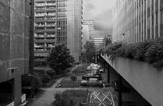 """Sidliste Vlasta"" Complex (residential, offices, administrative) Praha 10 - Vršovice, Prague, Czech Republic, built 1972-1977. Architect: Vlastibor Klimeš. Phptographer unknown."