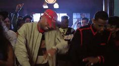 Chris Brown Dab Dance Gif