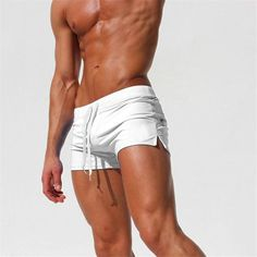 Swimwear Men Breathable Men's Swimsuits Trunks Boxer Briefs