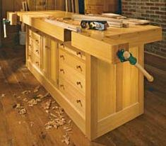 Workbench from ShopNotes