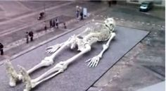"This is the worst blurry photoshop job I've ever seen!🤣🤣🤣 ~~~""City Found 360 Feet Below Missouri City, Giant Human Skeleton Found (Videos)"