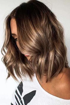 20 Worth Trying Long Stiletto Nails Designs   Hair   Pinterest     Trendy Hair Highlights Picture Description Hair Color 2018 27 Light Brown Hair  Colors That Will Take Your Breath Away Natural Light Bro