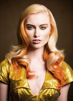 orange is lovely! #orangecurls #orangehair #pmtsportsmouth!