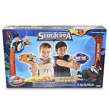 Slugterra - Pack 2 Pistolas   4 Slugs   Escudos