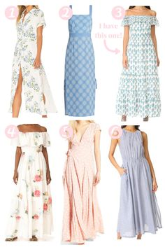 Maxi Dresses - really like the 2nd one with the simple country look.