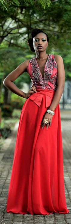 Nigerian Design Label, Moofa S/S 2012-2013 Collection.