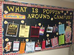 RA Informational board Elementary Bulletin Boards, College Bulletin Boards, Bulletin Board Design, Classroom Board, Parent Information Board, Information Bulletin Boards, Ra Themes, Ra Door Decs, Ra Bulletins