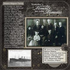 heritage page with great use of genealogy info