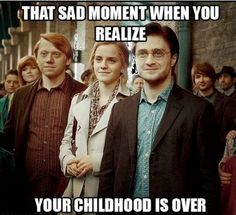 I thought the last movie would cure my incessant Peter Pan Syndrome. It didn't because I went to law school a month later where everyone lives vicariously through high school memories.