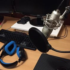 #Equipment part two. #Youtube #twitch #gaming #streaming #mic #microphone #fun #entertainment #livecoding by bitpuristen