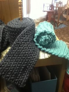 Ravelry: Barn's 2 Hour Slip Stitch Scarves