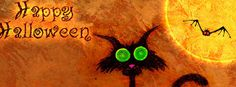 happy Halloween cat cover image