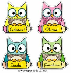 Welcome to school Owl Theme Classroom, Preschool Classroom, Preschool Activities, School Labels, Classroom Organization, Teaching Resources, Back To School, Clip Art, Kids