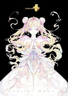 Sailor Moon by angieerenders