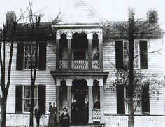Dr Robert B McNutt House - only Civil War era home remaining in Princeton, WV