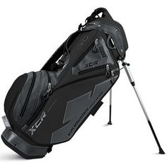 Sun Mountain Golf 2016 XCRS Stand Bag BlackGunmetal G601650 *** Continue to the product at the image link. Note: It's an affiliate link to Amazon