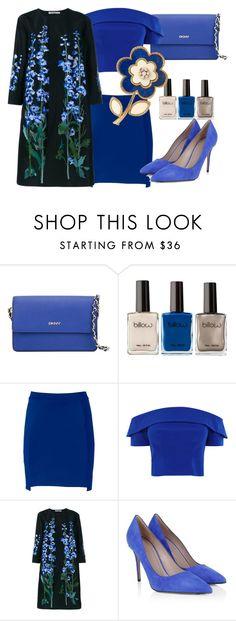 """""""Senza titolo #70"""" by blueviolette on Polyvore featuring moda, DKNY, Apt. 9, Alice Archer e Gucci"""
