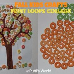 I am such a sucker for Froot Loop and Cheerios activities. Great for fine motor