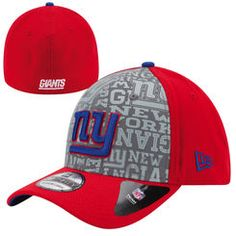 fc9ed02ea1f Men s New Era New York Giants NFL Draft 39THIRTY Reverse Flex Hat New York  Giants