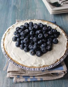 Learn how to make a blueberry cream pie and other blueberry recipes from the Blueberry Council. Kick your dessert up a notch with this fantastic blueberry cream pie
