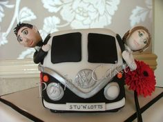 Camper Van Wedding Cake - For the bride and groom who like travel or just like VW.